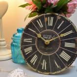 Hotel Fleur De Lis Small Clock