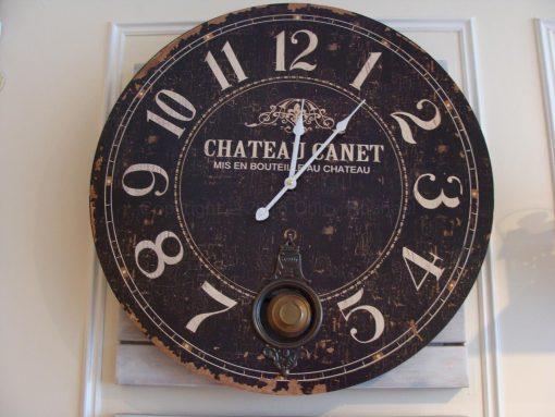 Large Chateau Pendulum Wall Clock