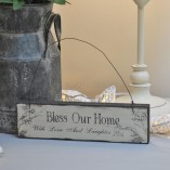 Bless Our Home With Love And Laughter Sign