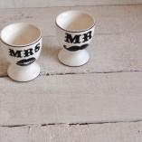 Mr & Mrs Egg Cups 3