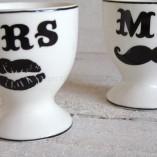 Mr & Mrs Egg Cups 1