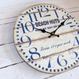 Beach Huts For Hire Small Wall Clock 2