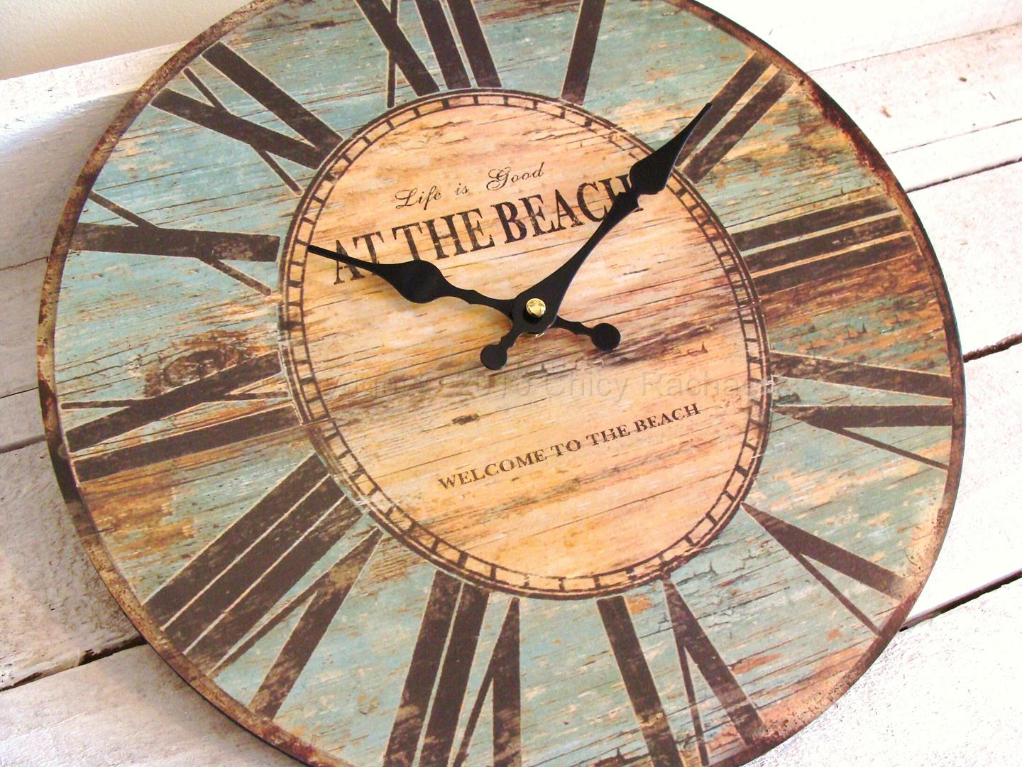 Life Is Good At The Beach Wall Clock 1