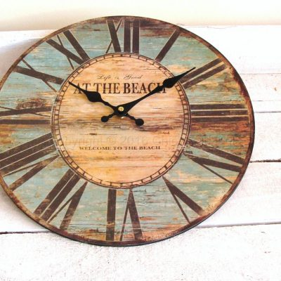 Life Is Good At The Beach Wall Clock
