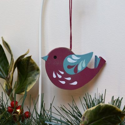 Red Robin Hanging Decoration