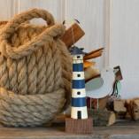 Blue Mini Lighthouse