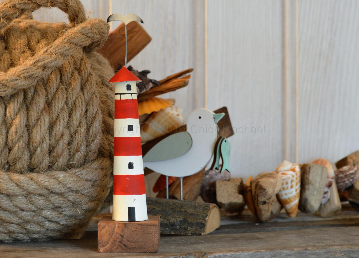 Mini Red Lighthouse