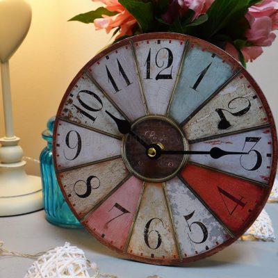 Small Colourful Wall Clock