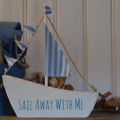 Sail Away With Me Boat
