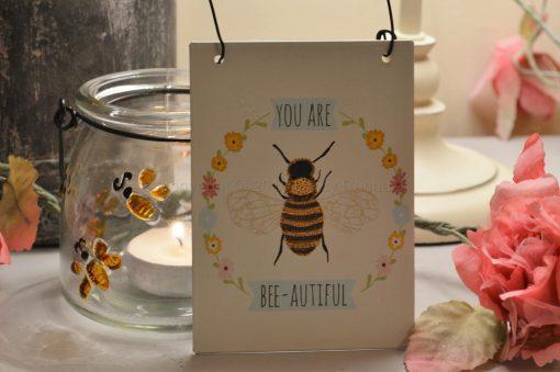 You Are Bee Autiful Mini Sign