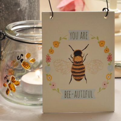You Are Bee Autiful Mini Sign