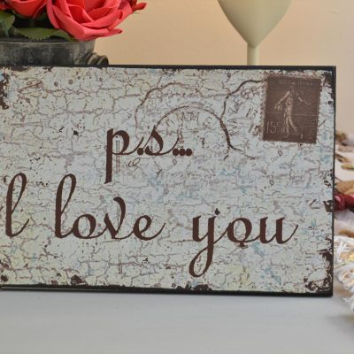 P.S I Love You Sign