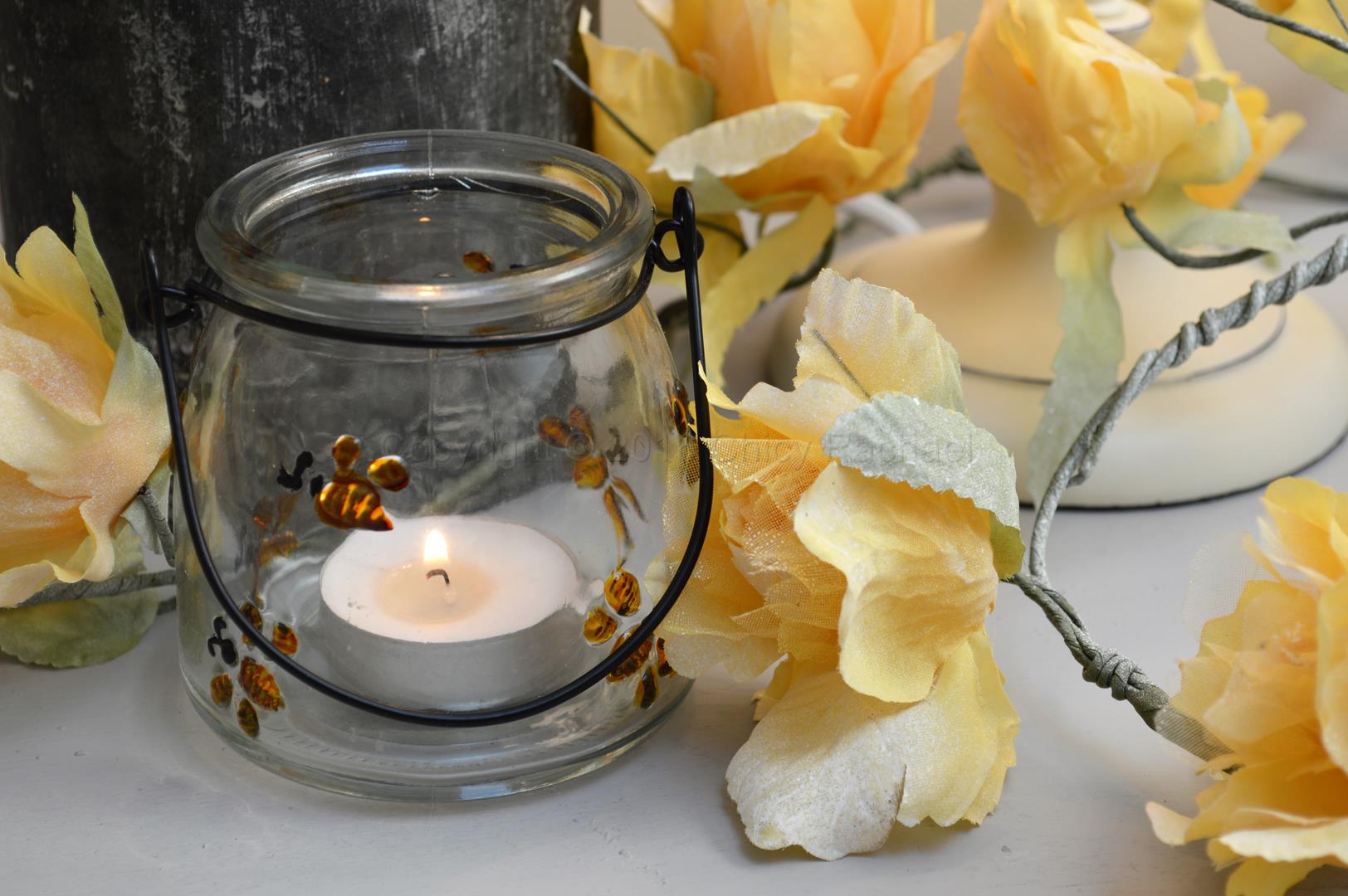 Shabby Chic Lanterns & Candle holders