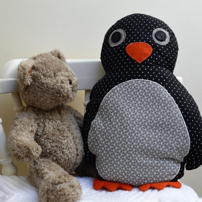 Pete The Penguin Cushion