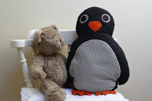 Pete The Penguin Cushion