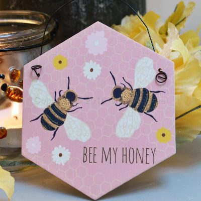 Bee My Honey Mini Sign