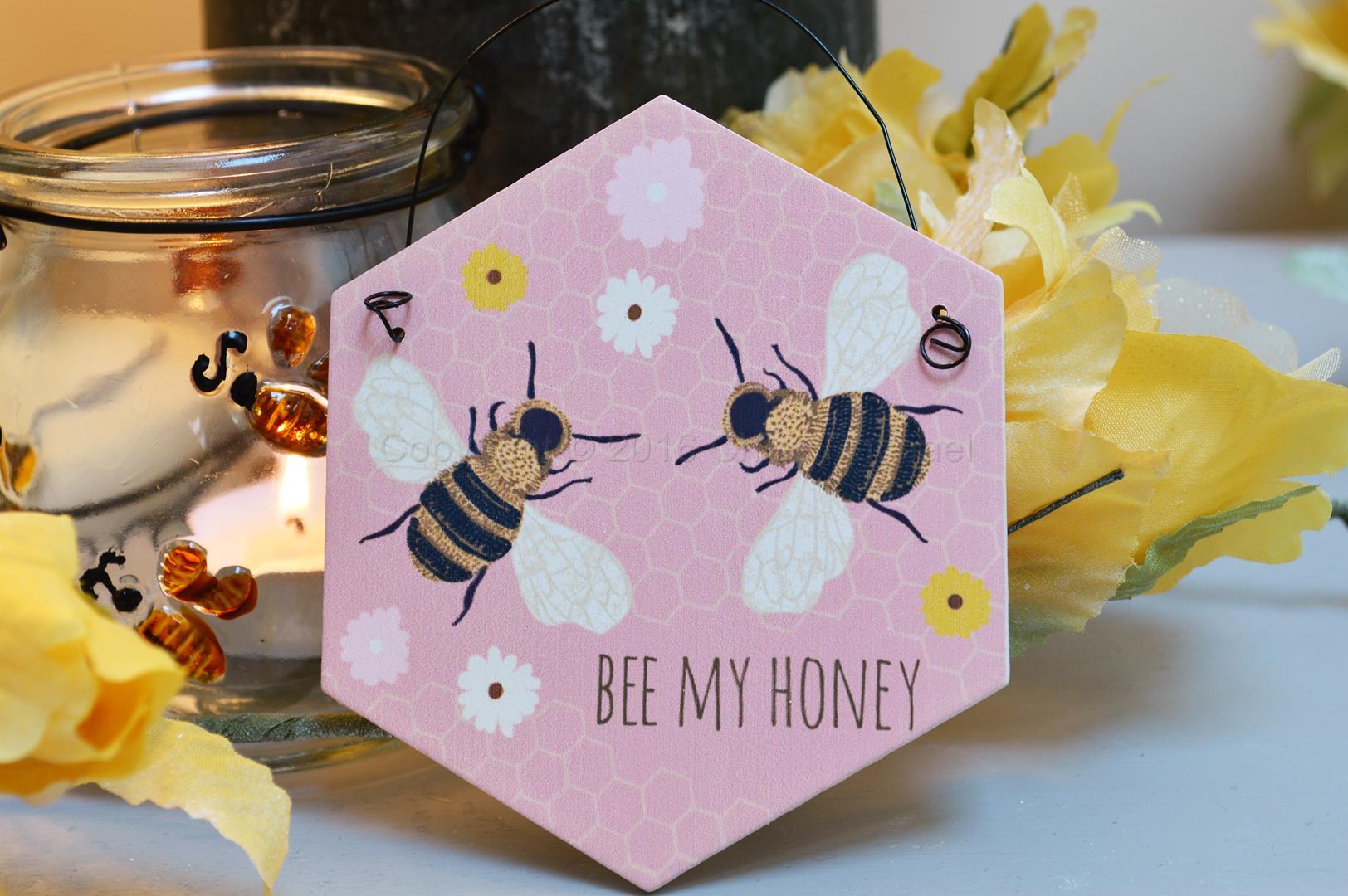 Bee My Honey Mini Sign