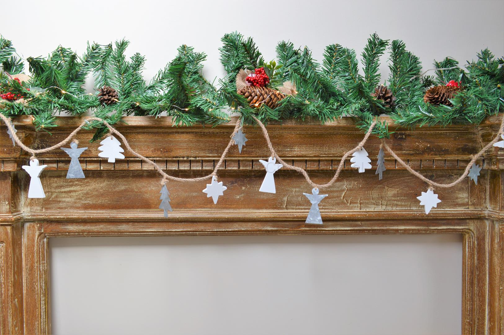 Tree Angel And Star Garland