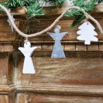 Tree Angel And Star Garland 2
