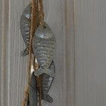 Six Silver Hanging Fish 1