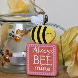 Always Bee Mine Mini Hanging Sign