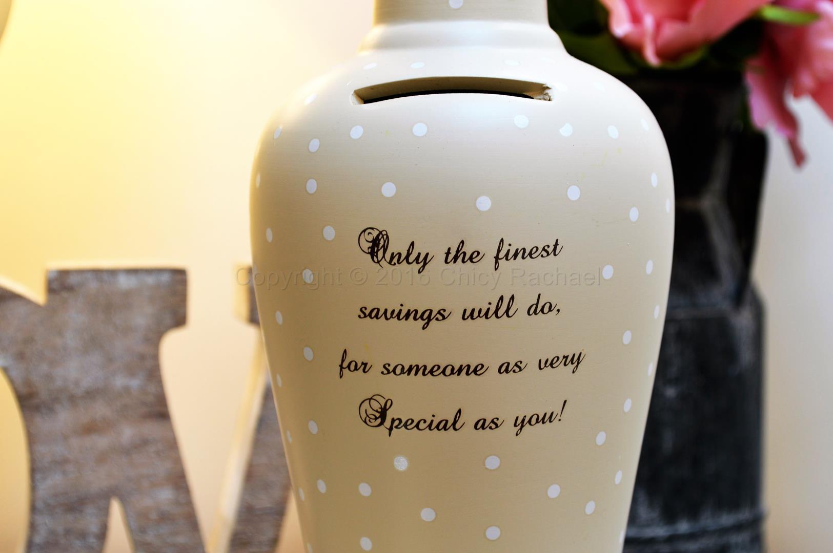Finest Savings Fund Saving Bottle 2