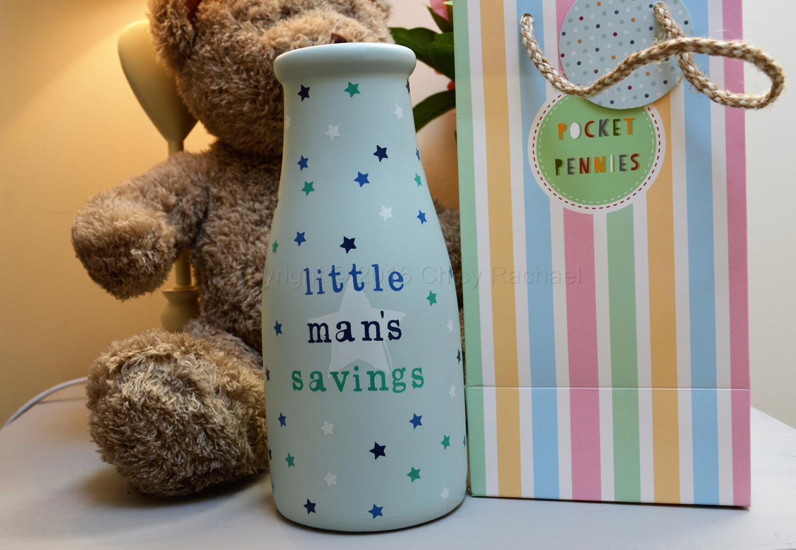 Little Man's Savings Bottle 1