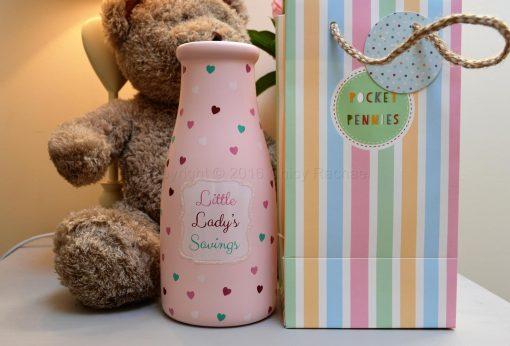 Little Lady's Savings Bottle 3
