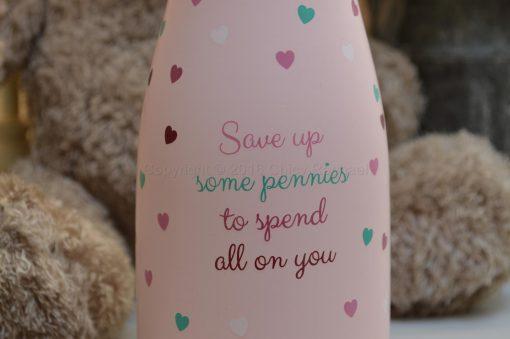 Little Lady's Savings Bottle 2