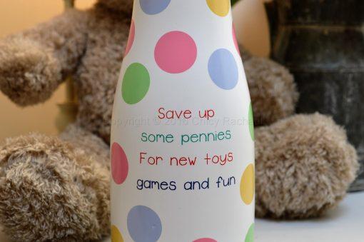 Toy Fund Savings Bottle 1