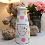 Toy Fund Savings Bottle