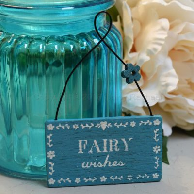 Fairy Wishes Mini Sign