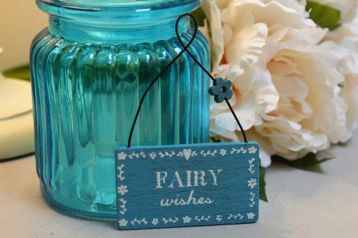 Fairy Wishes Mini Sign