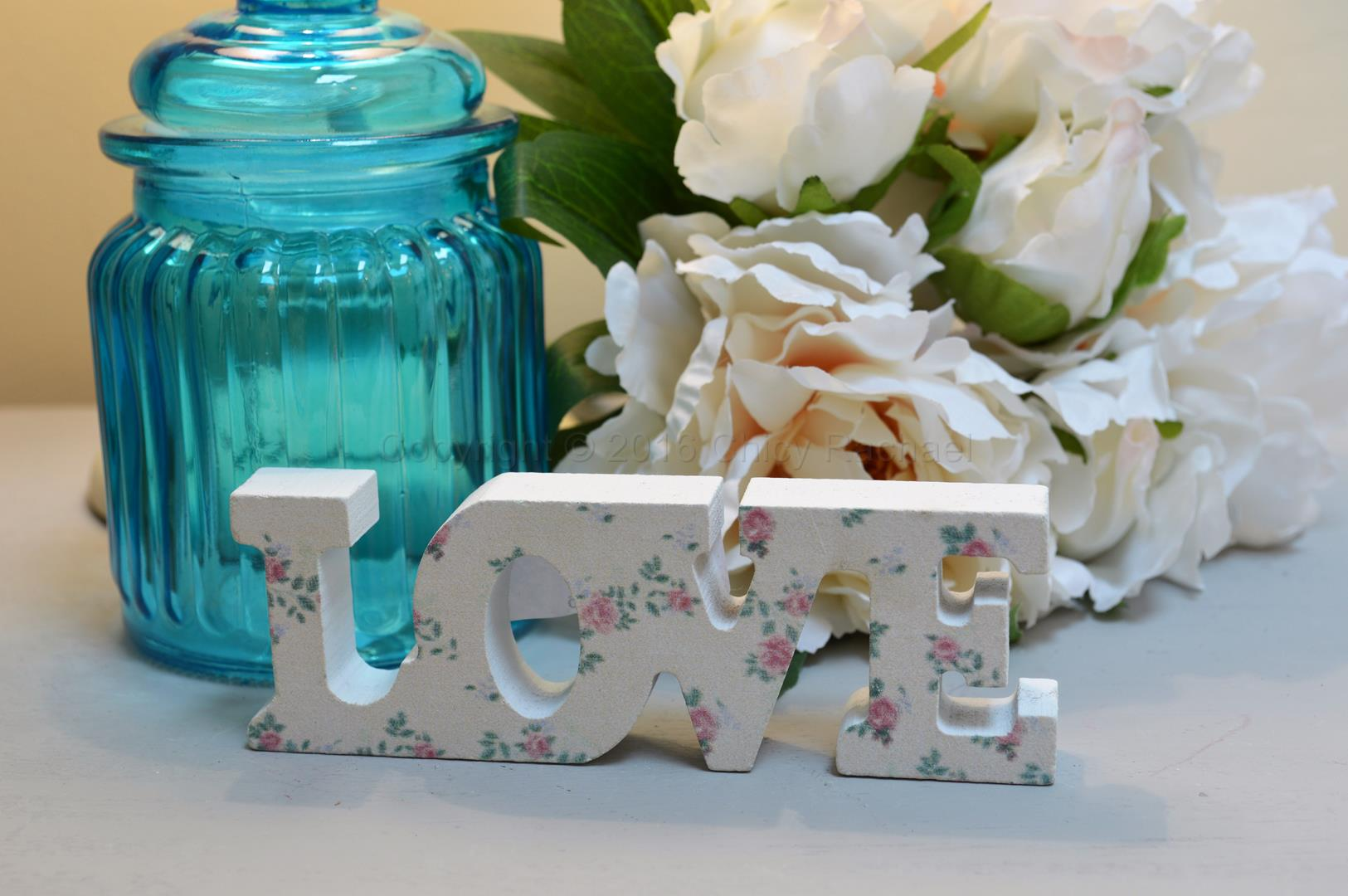 Mini Floral Love Letters