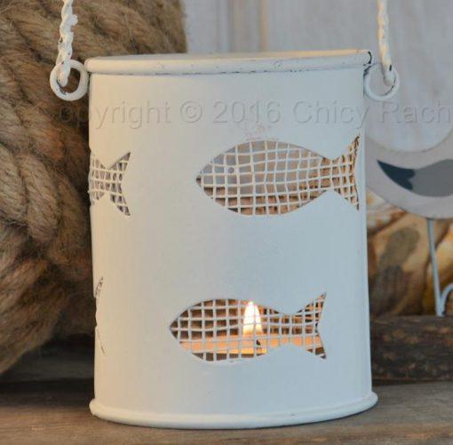 Fish Bucket Tea Light Holder