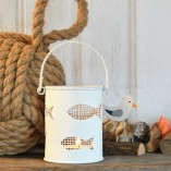 Fish Bucket Tea Light Holder
