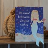 Mermaid Kisses And Starfish Wishes Sign 2