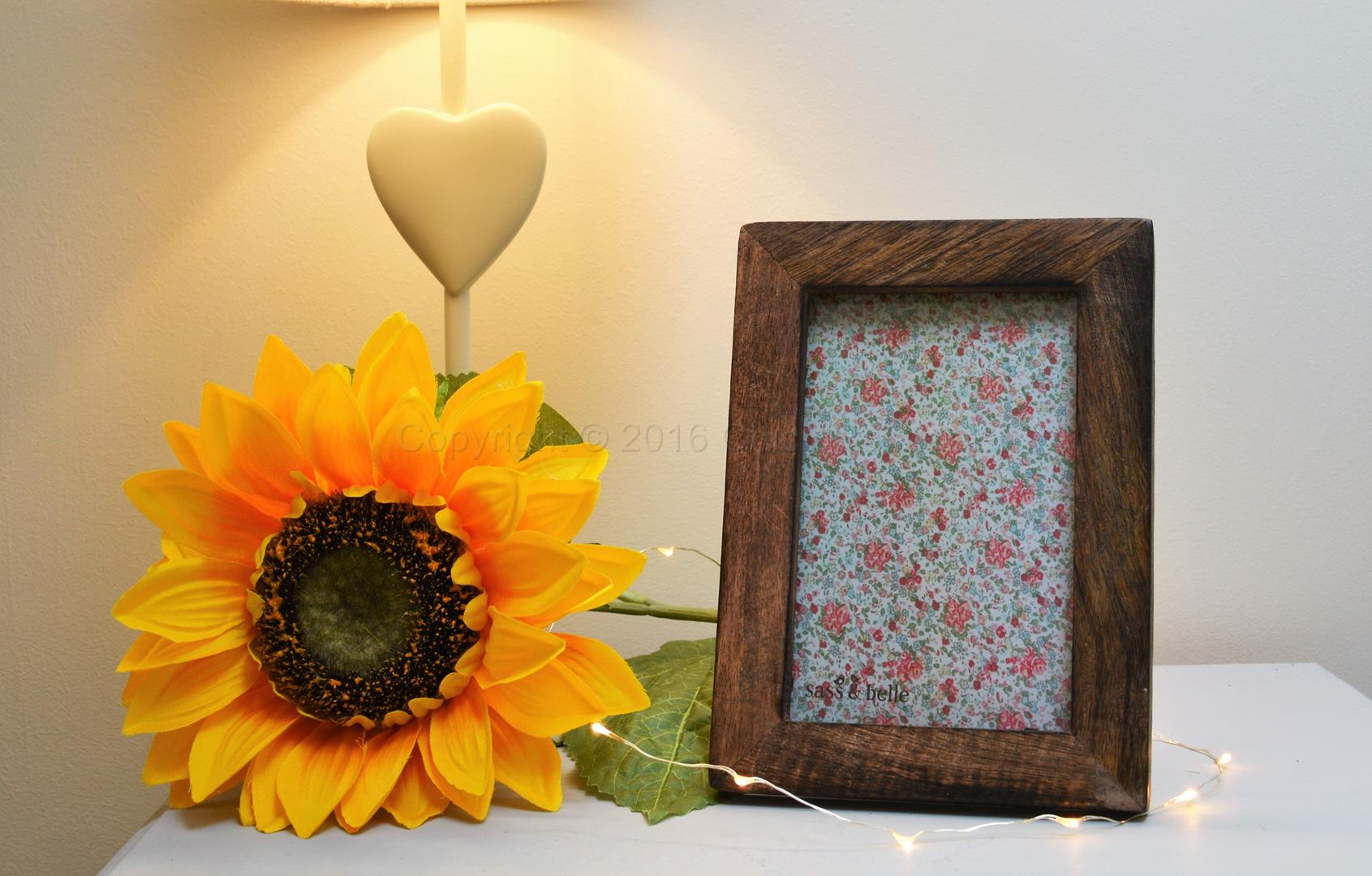 Small Dark Wooden Picture Frame