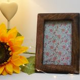 Small Dark Wooden Picture Frame 1