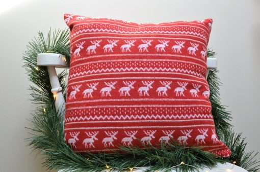 Reindeer Christmas Cushion