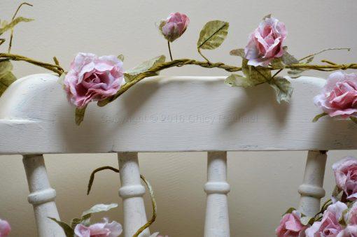 Light Pink Rose Flower Garland