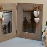 Double Wooden Picture Frame 1