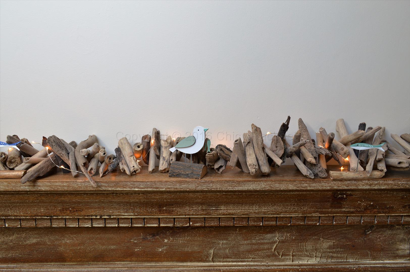 Long Driftwood Garland