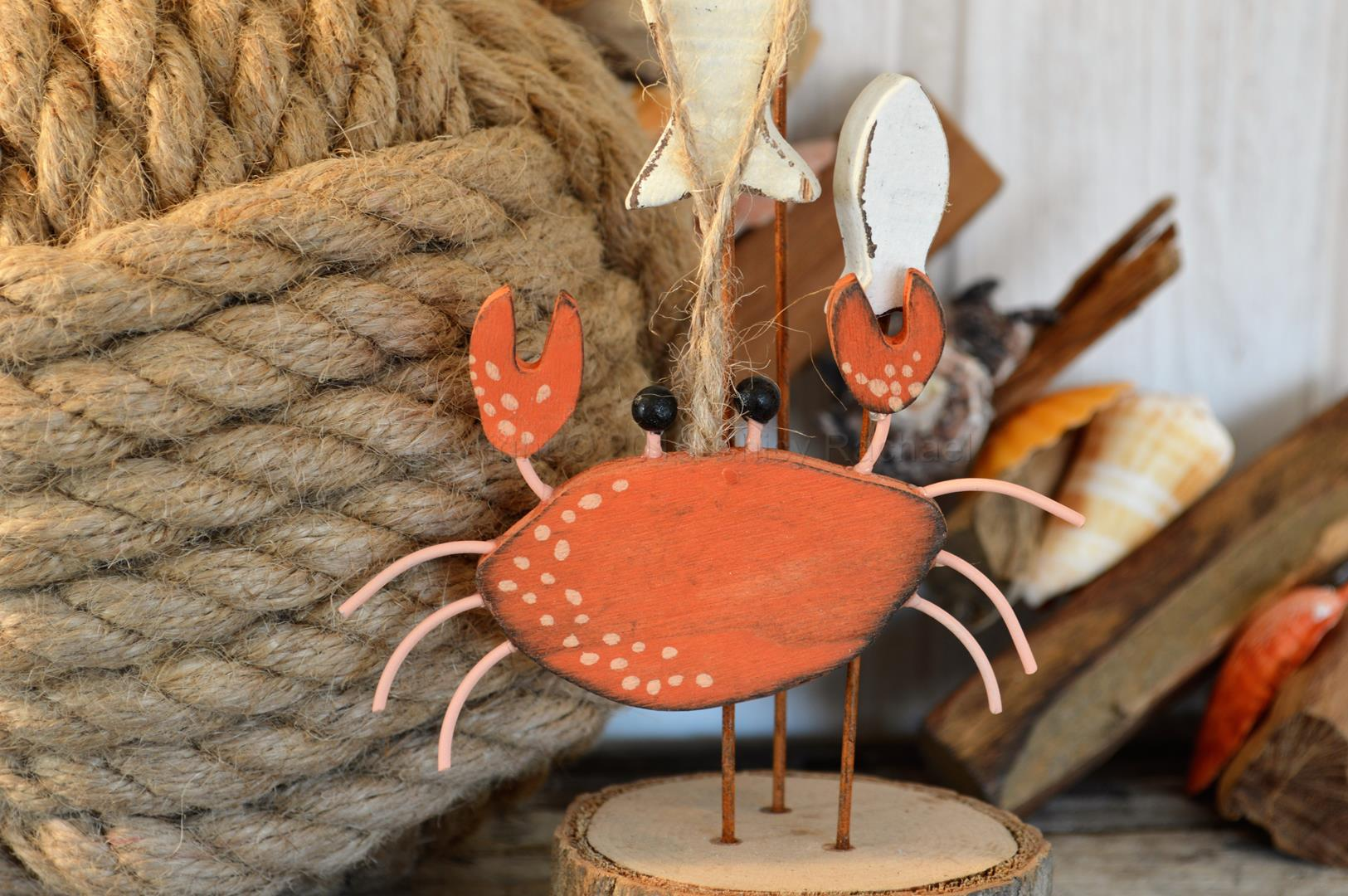 Hanging Crab Decoration