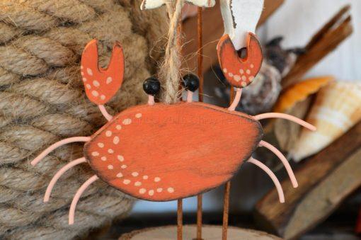 Hanging Crab Decoration 1