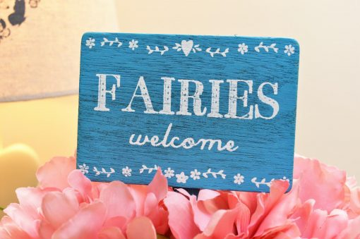 Fairies Welcome Stake Sign