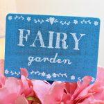 Fairy Garden Stake Sign