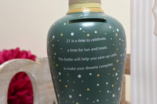 21st Savings Money Bottle 3