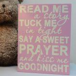 Baby Girl Prayer Sign 2