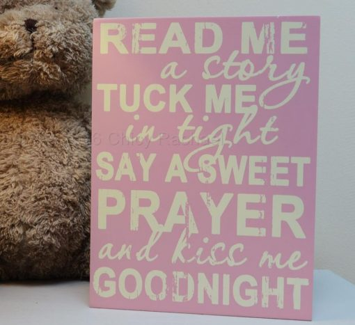 Baby Girl Prayer Sign 2